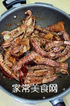 又到吃虾季---【麻辣虾爬子】的做法步骤:7
