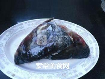 酱焖鱼头的做法步骤:3