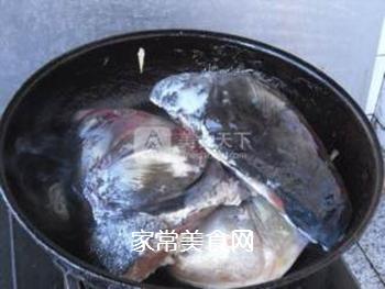 酱焖鱼头的做法步骤:6