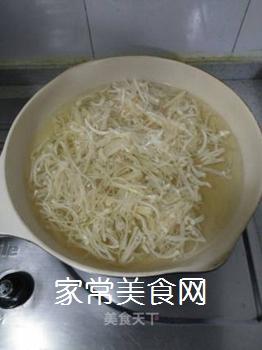 荷兰豆炒金针菇的做法步骤:4