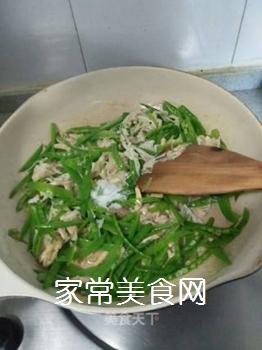 荷兰豆炒金针菇的做法步骤:13