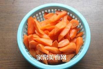 炒胡萝卜的家常做法