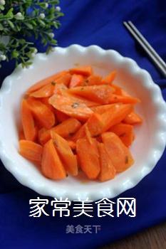 炒胡萝卜的做法步骤:6