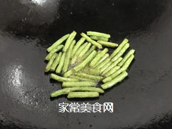 四季豆炒茄子的做法步骤:6