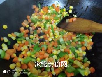 素炒三丁的做法步骤:5