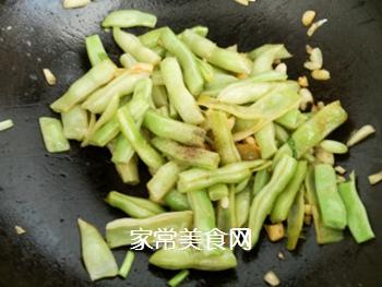 蒜香白豆角的做法步骤:8