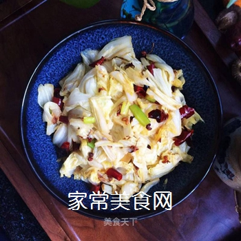 香辣白菜的做法