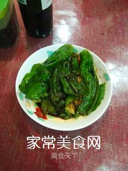 煎椒的做法步骤:2
