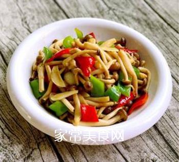 小炒蟹味菇的做法步骤:8