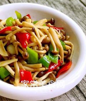 小炒蟹味菇的做法步骤:9