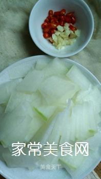 蒜香冬瓜片的家常做法