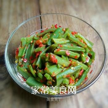 蒜辣酱拌贡菜的做法