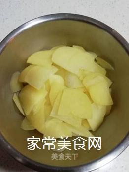 尖椒土豆片的家常做法