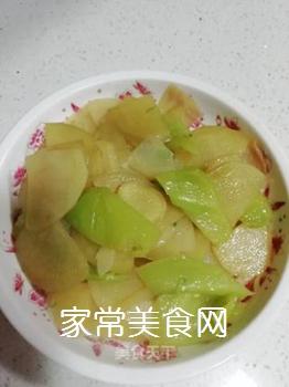 尖椒土豆片的做法步骤:7