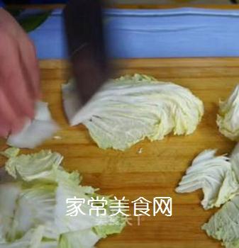 醋溜白菜的做法步骤:2