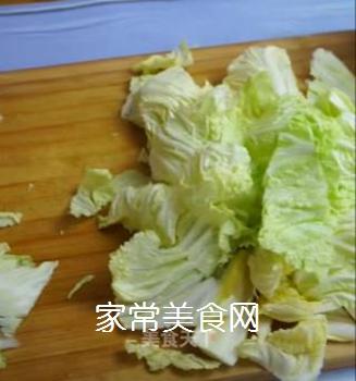 醋溜白菜的做法步骤:3