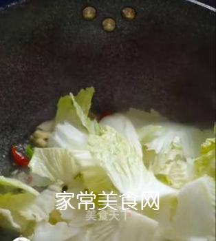 醋溜白菜的做法步骤:8