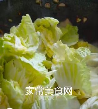 醋溜白菜的做法步骤:9