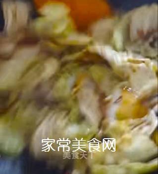 醋溜白菜的做法步骤:11