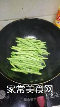 干煸豆角的做法步骤:3