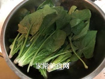 拌菠菜的做法步骤:2