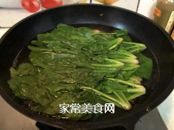 拌菠菜的做法步骤:3