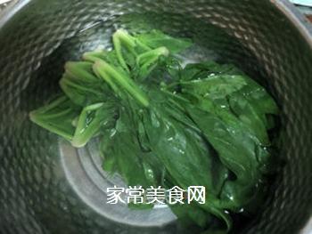 拌菠菜的做法步骤:4