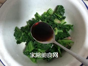 拌菠菜的做法步骤:6
