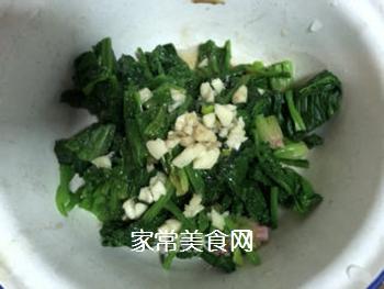 拌菠菜的做法步骤:7