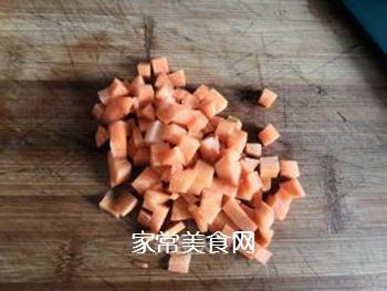 素炒三丁的做法步骤:2