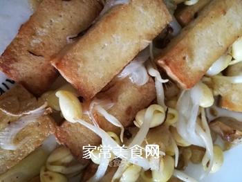 豆腐炒豆芽的做法