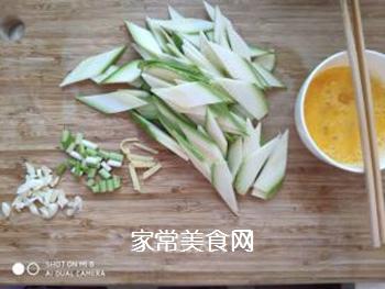 角瓜木耳炒鸡蛋的做法步骤:3