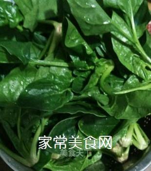 猪油炒菠菜的家常做法