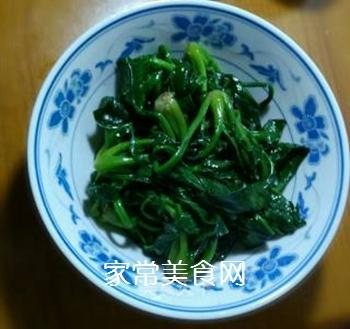 猪油炒菠菜的做法步骤:5