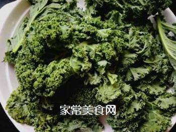 #团圆饭#焯炒橄榄菜的做法步骤:1