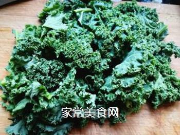 #团圆饭#焯炒橄榄菜的做法步骤:2