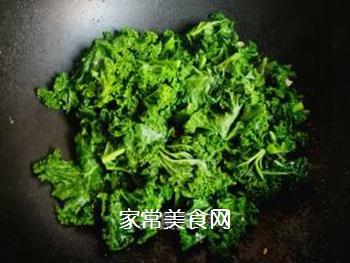 #团圆饭#焯炒橄榄菜的做法步骤:5