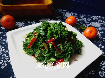 #团圆饭#焯炒橄榄菜的做法