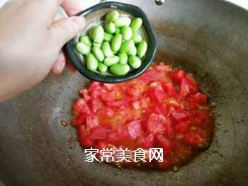 茄汁牛肉炒蛋面的做法步骤:8