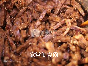 最简单省事的牛肉干--微波炉版牛肉干的做法步骤:6