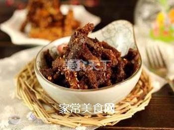 最简单省事的牛肉干--微波炉版牛肉干的做法步骤:9