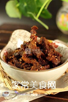 最简单省事的牛肉干--微波炉版牛肉干的做法步骤:11