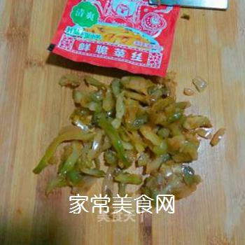 茶树菇牛肉末的做法步骤:5