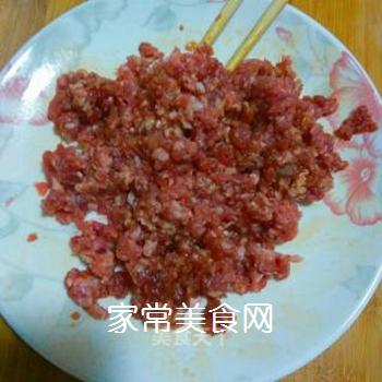 茶树菇牛肉末的做法步骤:7