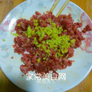 茶树菇牛肉末的做法步骤:8
