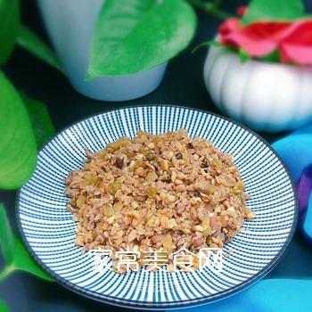 茶树菇牛肉末的做法