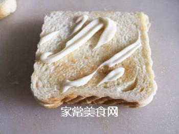 三明治的做法步骤:4