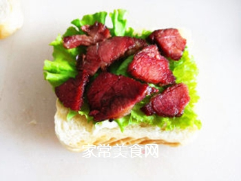三明治的做法步骤:5
