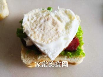 三明治的做法步骤:7