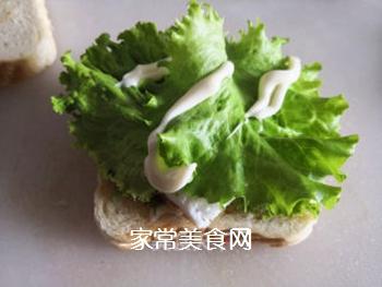 三明治的做法步骤:9